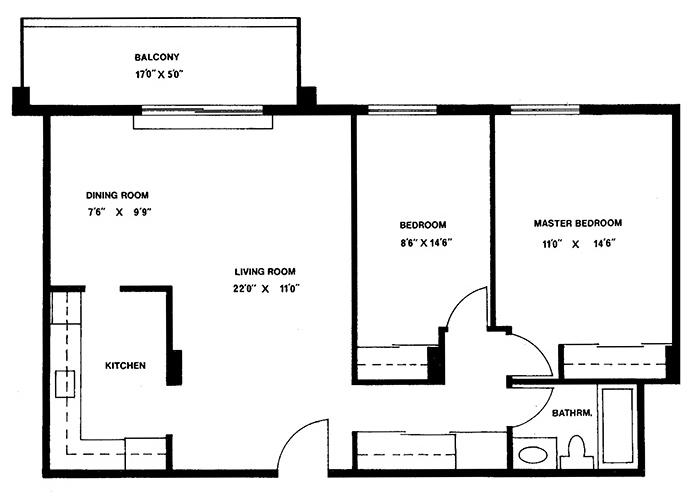 2 Bedroom - Suite 3