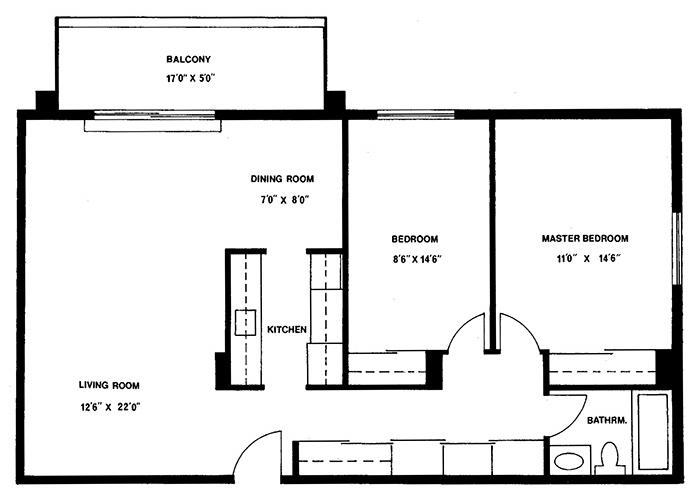 2 Bedroom - Suite 11