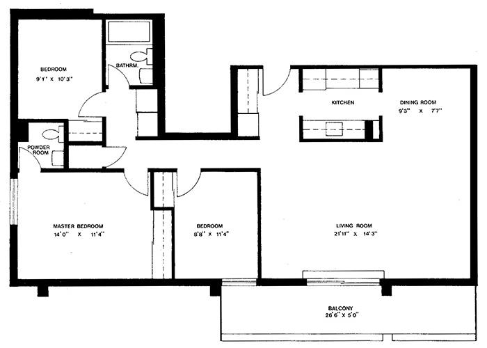 Penthouse - Suite B