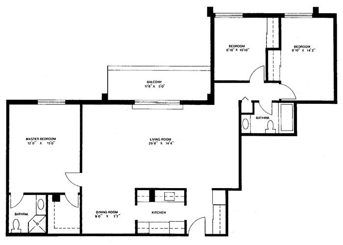 Penthouse - Suite C