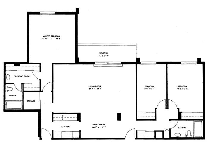 Penthouse - Suite E