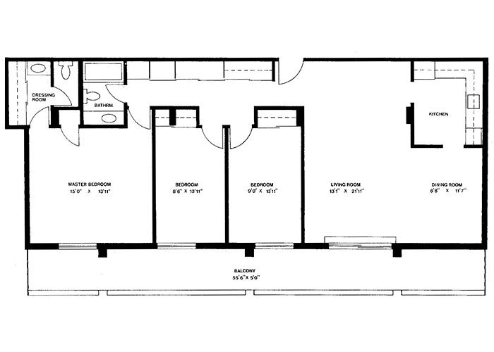 Penthouse - Suite F