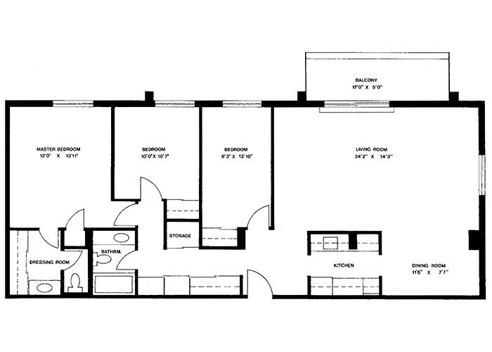 Penthouse - Suite G