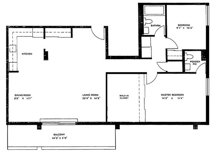 Penthouse - Suite H